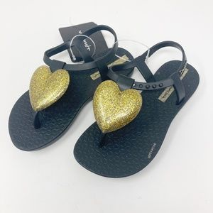 Kids Childrens Ipanema Greta VIII Kids Blue White Sandal Flip Flop